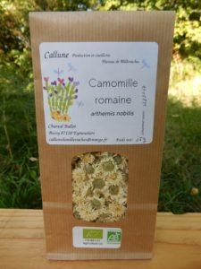 camille romaine cultivée et récoltée par Callune à Bussy