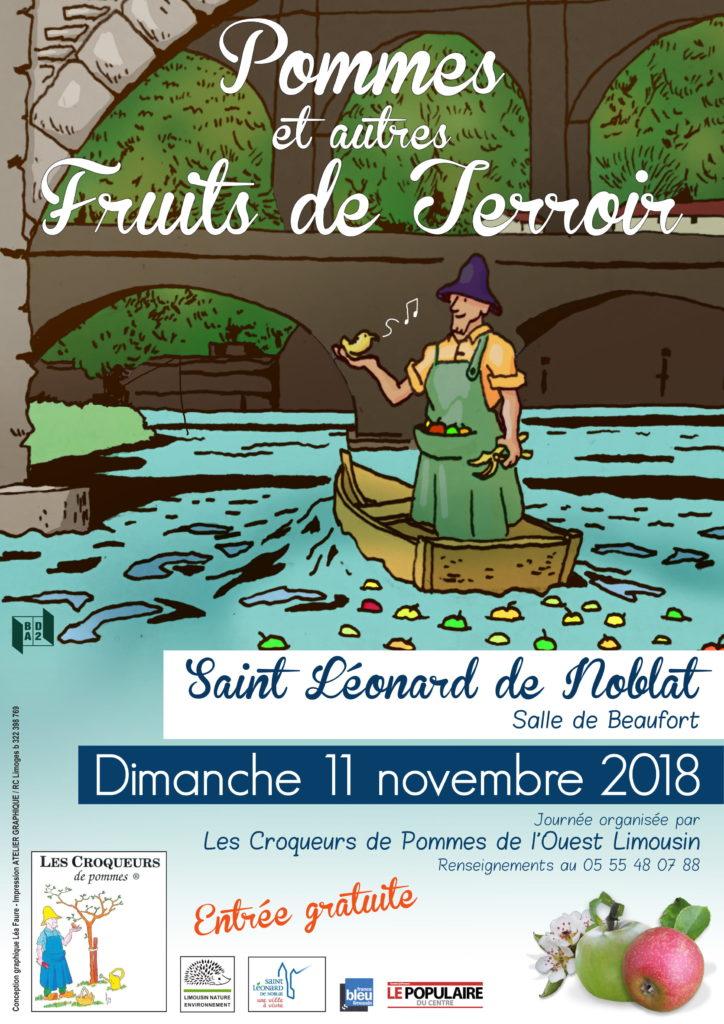 Pommes et autres fruits du terroirs